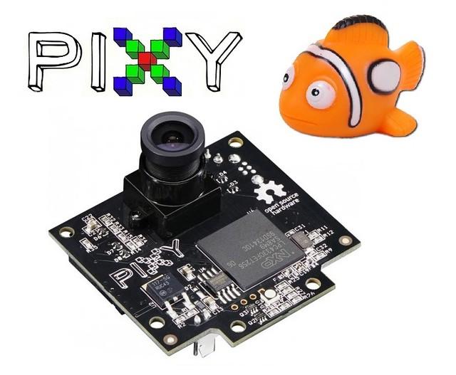CMUcam5 (Pixy) Dijital Kamera incelemesi